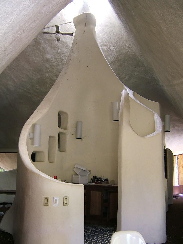 Inside of the Shell House