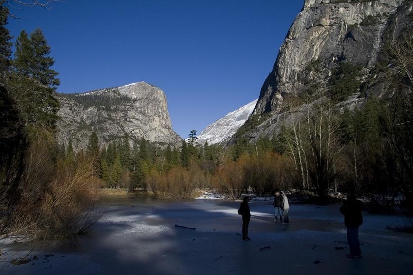 The Classic Mirror Lake View Frozen