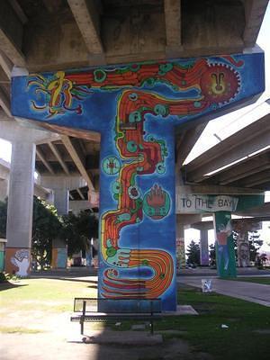 Nacimiento del parque chicano mural for Chicano park mural