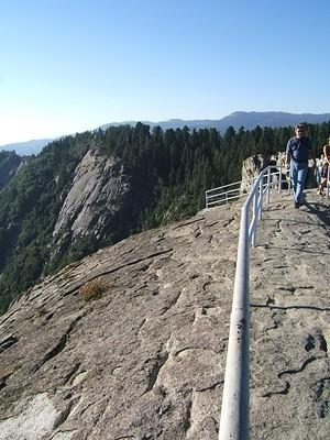 Top of Moro Rock, looking back north
