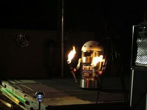 What?  Don't you have a fire spinning robot?