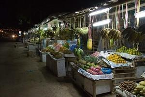 Outdoor fruit market