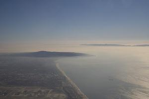Long Beach and the edge of LAX