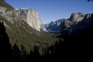 Yosemite Valley from the Wawona Tunnel Overlook