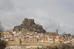 Castle of Morella and the old city walls
