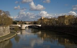 Reflections on the Tiber River