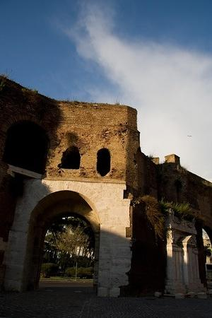 Rome's old walls
