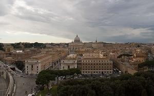 The Vatican from Castel Sant'Angelo