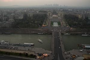 The Trocadéro from the Eiffel Tower