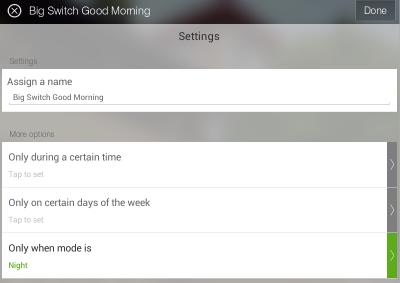 Big Switch Good Morning 2